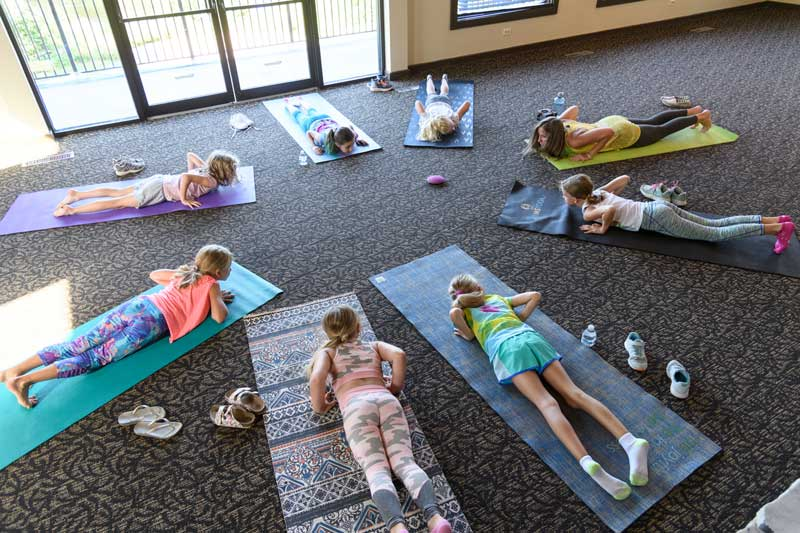 This is an organized program where Erin Stevenson of the Do Good Movement is coming into classrooms on a weekly/monthly basis to provide a yoga practice around creating a community within the school.